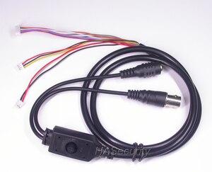 """Image 4 - 32x32mm AHD M (720 P) /CVBS 1/3 """"Exmor IMX225 cảm biến CMOS + NVP2431 CCTV máy ảnh PCB ban đun + cáp OSD + M12 LEN + IRC (UTC)"""