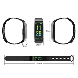 Image 4 - KR02 IP68 Waterproof Fitness Bracelet GPS Smart Band Heart Rate Monitor Watch Activity Tracker 3 for Xiao Mi Android IOS Phone
