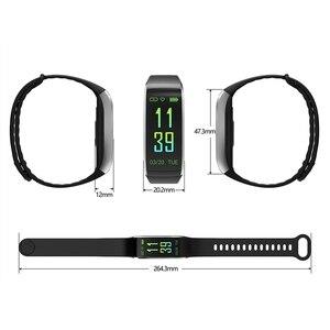 Image 4 - KR02 IP68 étanche Bracelet de remise en forme GPS bande intelligente moniteur de fréquence cardiaque montre Tracker dactivité 3 pour Xiao Mi Android IOS téléphone