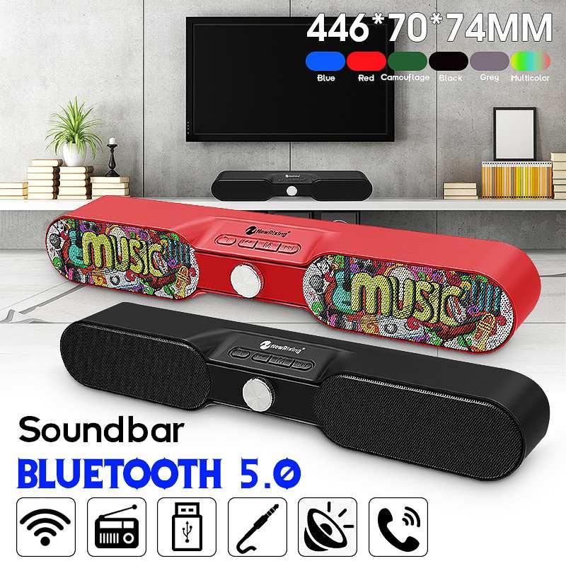 Unterhaltungselektronik Neue Mode Bluetooth 5,0 10 W Wahre Wireless Soundbar Lautsprecher Stereo Virtuelle Surround Sound Freisprecheinrichtung Lautsprecher Unterstützung Tf Fm Usb Aux