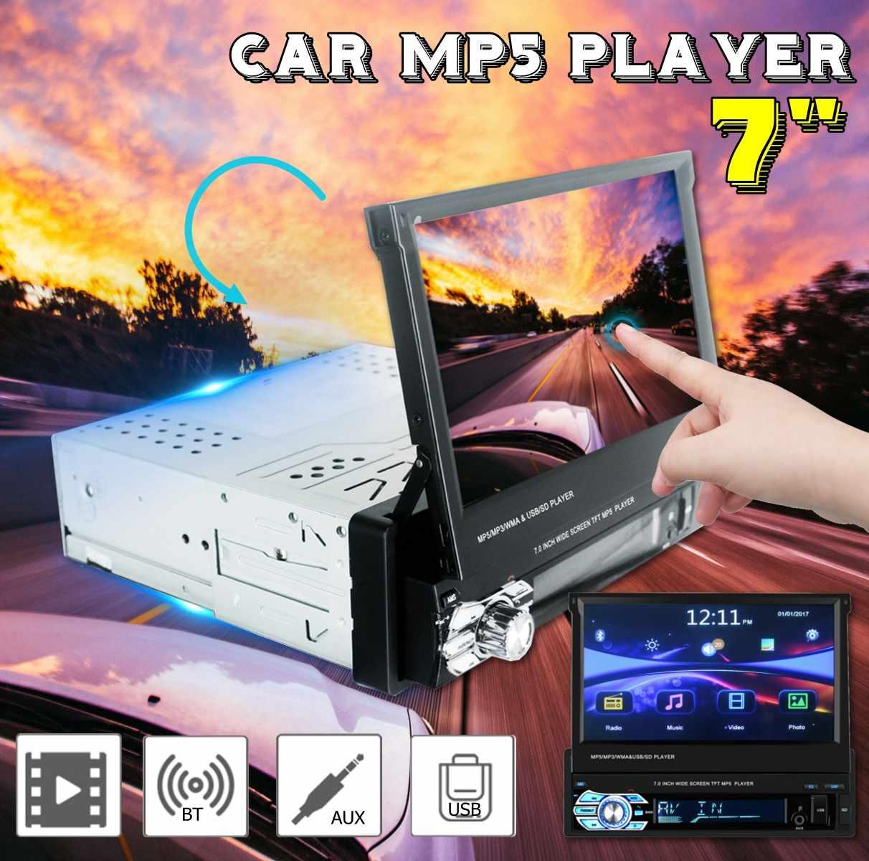 Autoradio universel 7 HD ecran tactile 1DIN Autoradio FM bluetooth MP3 MP4 MP5 lecteur Audio musique 9601 1 din AutoradioAutoradio universel 7 HD ecran tactile 1DIN Autoradio FM bluetooth MP3 MP4 MP5 lecteur Audio musique 9601 1 din Autoradio