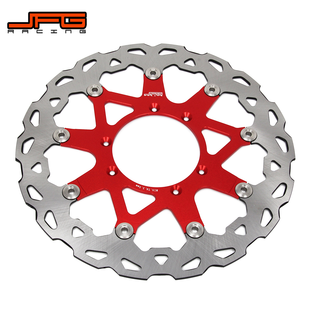 Rotor de disque de frein flottant avant surdimensionné 320MM pour HONDA CR CRF CR125 CR250 CRF250R CRF250X CRF450X CRF450R Motocross Enduro