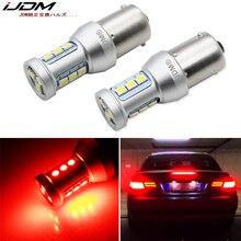 IJDM BAU15S PY21W LED 1156 P21W Canbus светодиодные лампочки светодиодные лампы для BMW F22 F30 F32 2 3 4 Series задние поворотники или тормозные/задние фонари