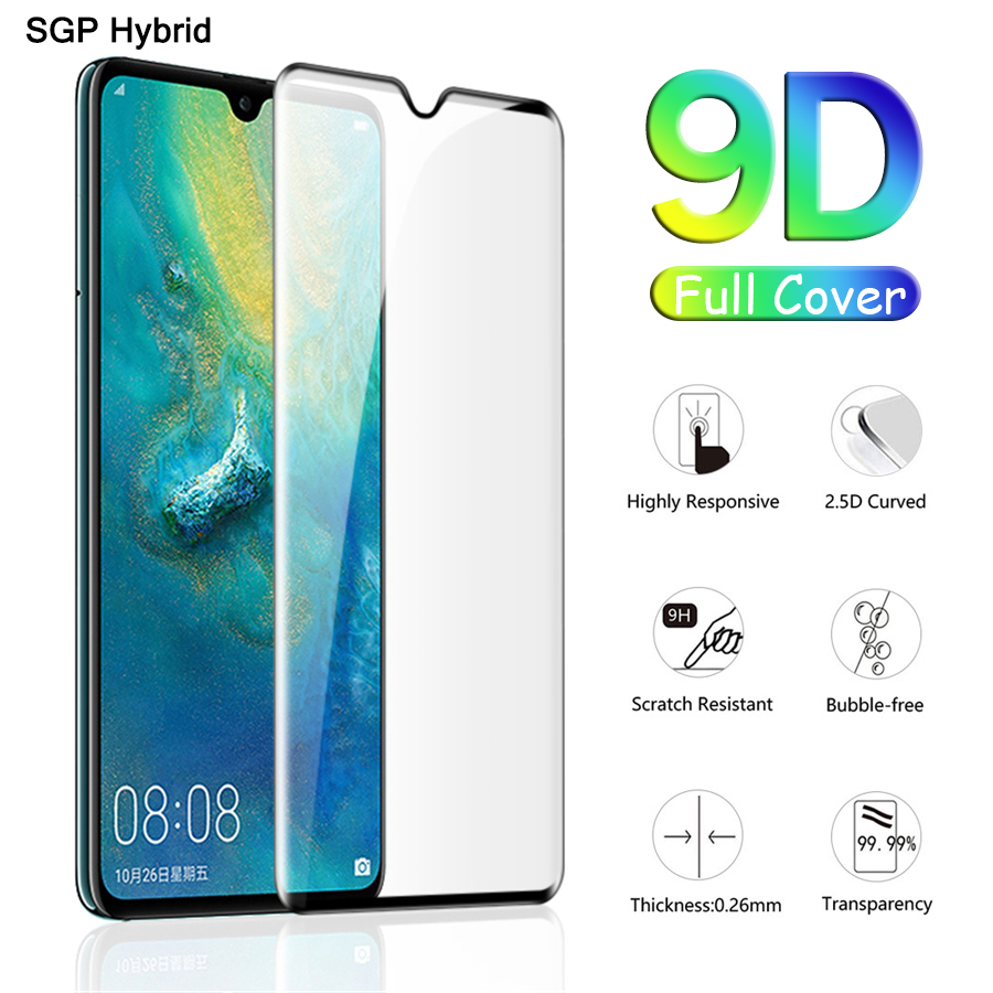 9D Protective Glass Full Glue On The For Huewei P20 P Smart Plus Mast 20 Lite Pro 2019 Screen Protector Film Cover Tempered Glas(China)
