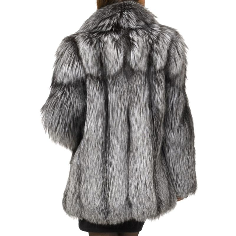 Survêtement Femelle De White Laine Hiver black Surdimensionné Femmes Chaud gray 2018 Veste Faux Noir Automne D'agneau D'hiver Manteau Hairly 6CwaZqZO