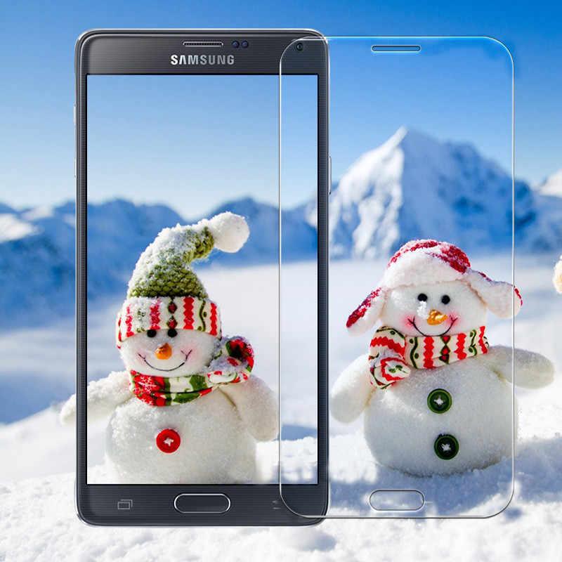 Para Samsung Galaxy A6 A7 A8 J6 2018 9H Tela De Vidro Temperado Protetor de Tela Película Protetora para Samsung A3 A5 A7 2017 2016