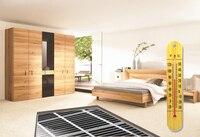 Película de calefacción de suelo de 65 metros cuadrados con termostato 9C y todos los demás accesorios