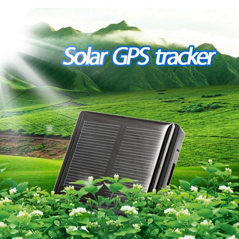 VODOOL GPS Tracker V26 animal de compagnie solaire chien chat localisateur détecteur étanche en temps réel SOS une clé Anti-perte voiture électronique Tracker alarme