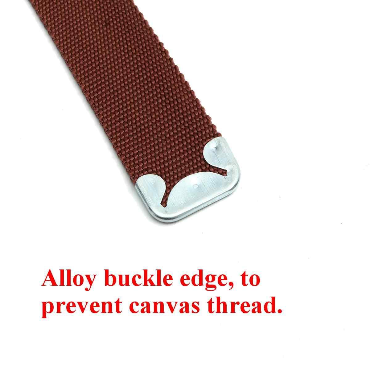 22 Inch Universal Stilts Comfort Straps Drywall Leg Band Straps Kit Hook /& Loop