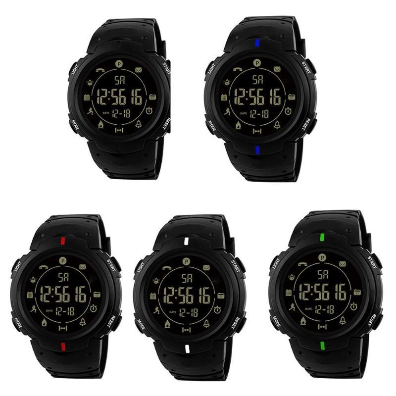 HONHX Unisex Waterproof Bluetooth Sports Wristwatch Smart Electronic Watch