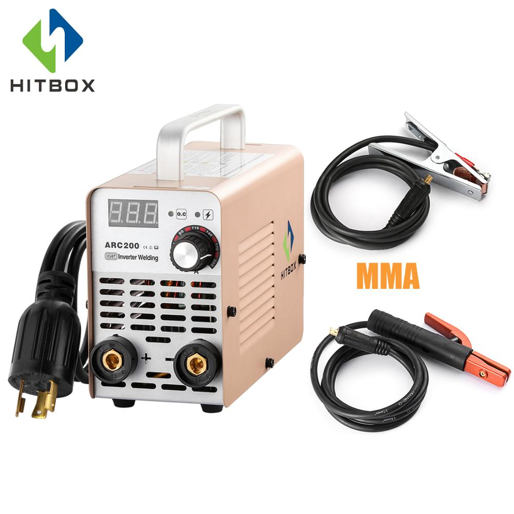 Lightweight Portable Mma Electric Welder 220v Inverter Arc Welding Machine Tool High Quality Welders, Cutters & Torches
