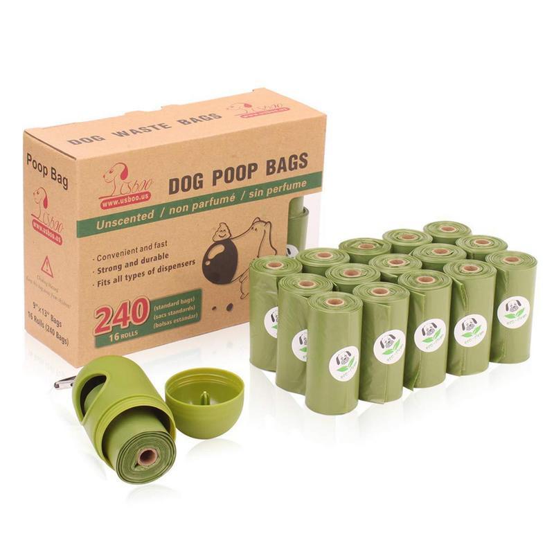 Cacca di cane Sacchetti di Terra-Friendly 240 Conta 16 Rolls Verde Inodore OXO Biodegradabile Dei Rifiuti Cat Borse Con Dispenser sacchetto di immondiziaCacca di cane Sacchetti di Terra-Friendly 240 Conta 16 Rolls Verde Inodore OXO Biodegradabile Dei Rifiuti Cat Borse Con Dispenser sacchetto di immondizia