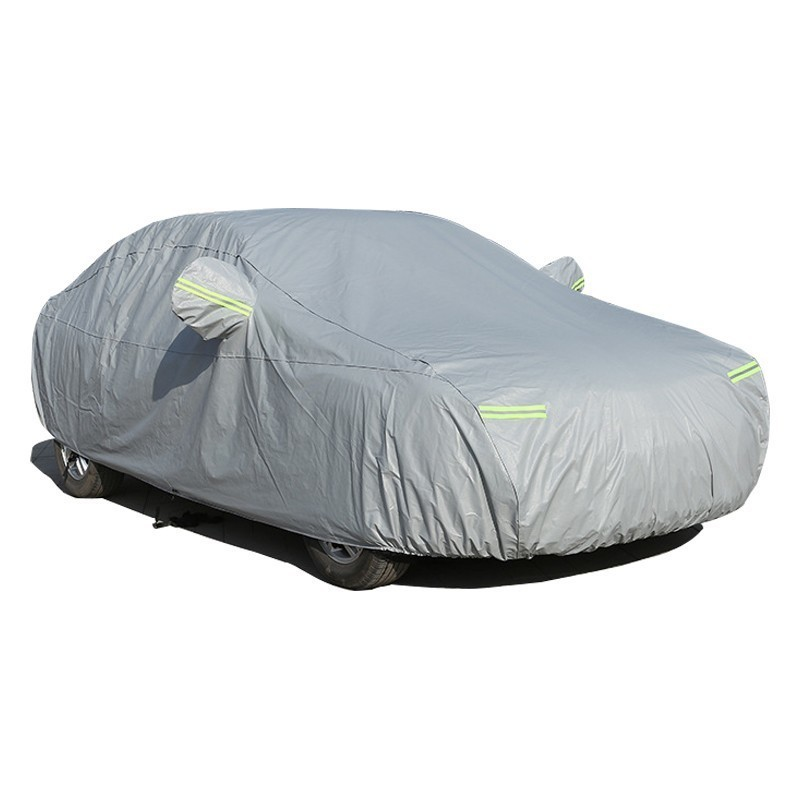 Car Cover For Skoda Octavia Rapid Yeti Karoq Kodiaq GT Fabia With Side Opening Zipper Dustproof Waterproof Sun Protector Cover(China)