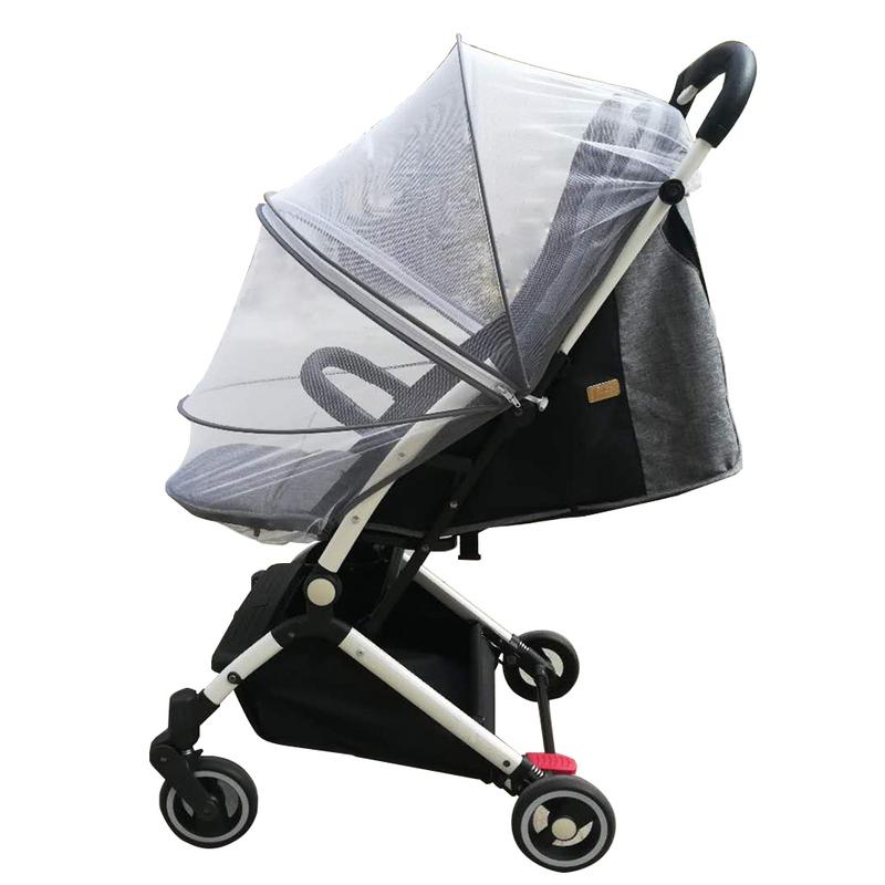 Baby Stroller Crib Netting Pushchair Cart Mosquito Insect Net Safe Mesh Buggy Crib Netting Baby Car Outdoor Protect Mosquito Net