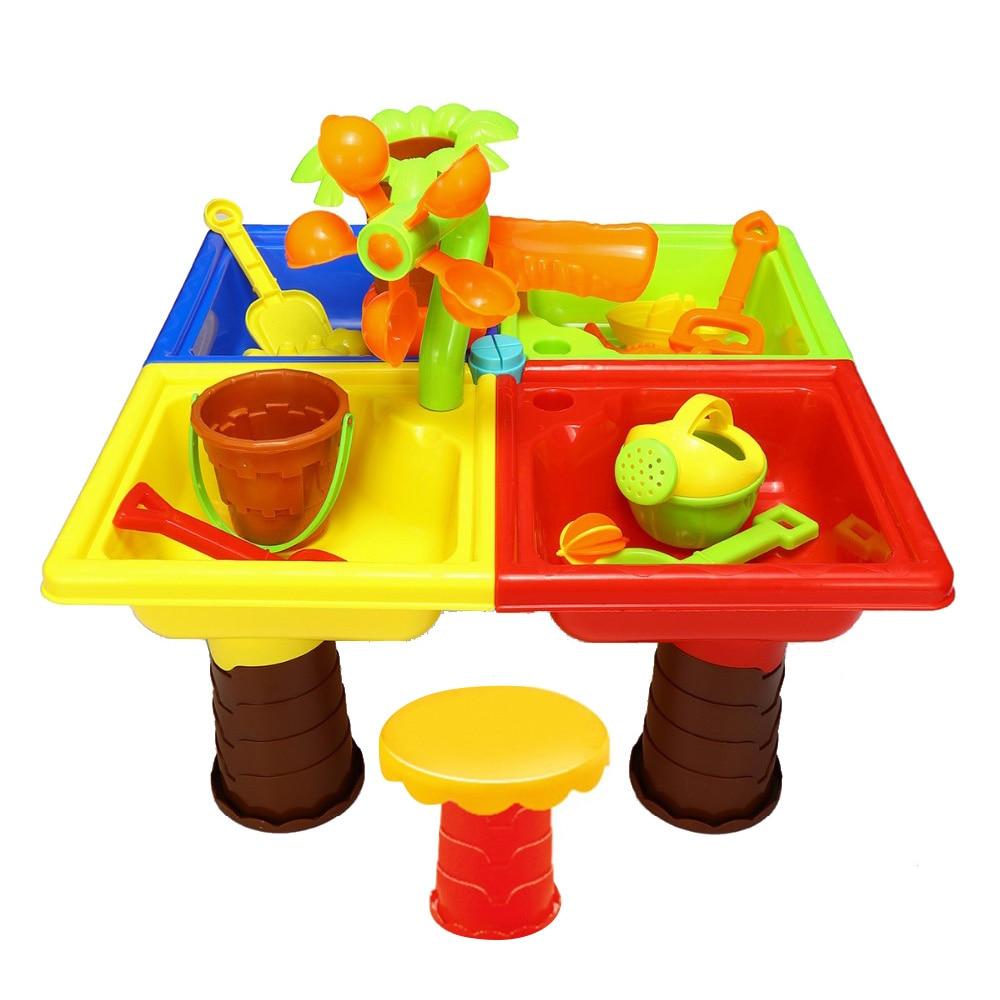 Beach/sand Toys Pools & Water Fun Huang Neeky #501 2019 New Tpe Sand Plastic Sandbeach Kids Beach Castle Bucket Spade Shovel Rake Water Tools Toys Free Shipping