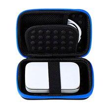 Besegad נייד נשיאת מגן אחסון EVA מקרה תיק מעטפת כיסוי עבור LG פולארויד ZIP HP סבבת תמונה אביזרי מדפסת