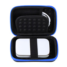 Besegad Portable Carrying Protective Storage EVA Case Bag Shell Cover for LG Polaroid ZIP HP Sprocket Photo Printer Accessories