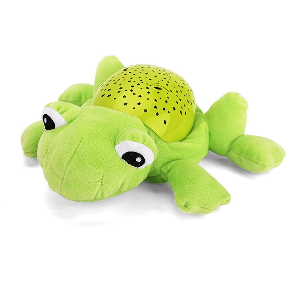Baby Cartoon Animal Soft Comfort Plush Casual Toys Music Hypnotic 3 x AA Projector 3 Years Unisex Projection