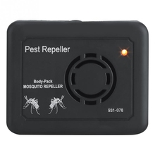 Outdoor Portable Electronic Ultrasonic Mosquito Repeller Camping Indoor Pest Control Anti Rat Mouse Spider Repel