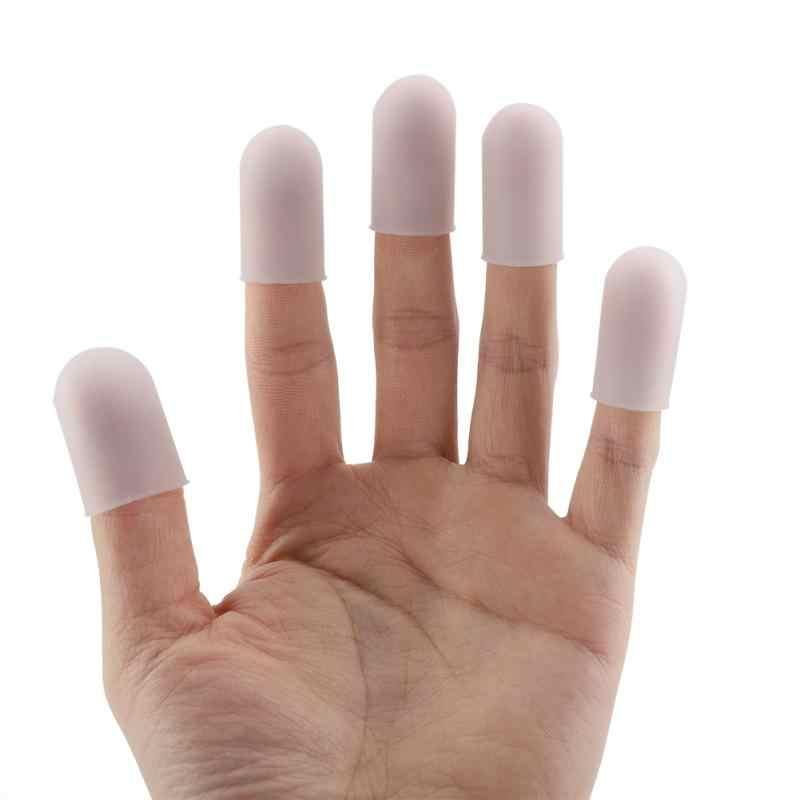 5 шт./компл. силиконовый нескользящий протектор пальцев кончики пальцев противоскользящие кончики пальцев флип перчатки до кончиков пальцев для жарки приготовления выпечки