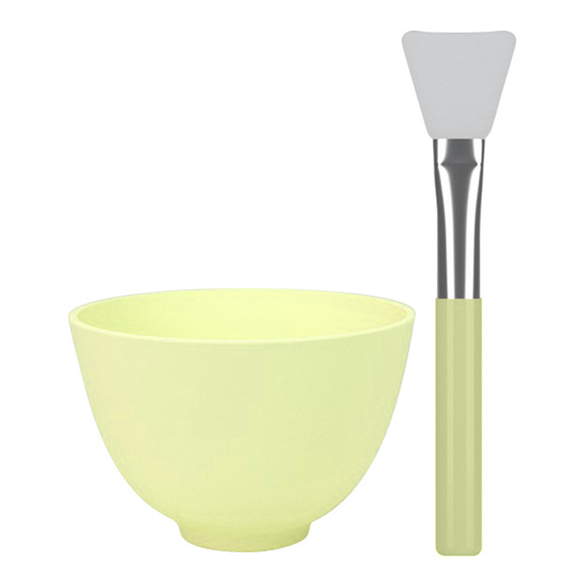 Brand Face Mask Mixing Bowl DIY Facial Mask Mixing Bowls With Silicone Hairless Brush Beauty Tools Toiletry Kits