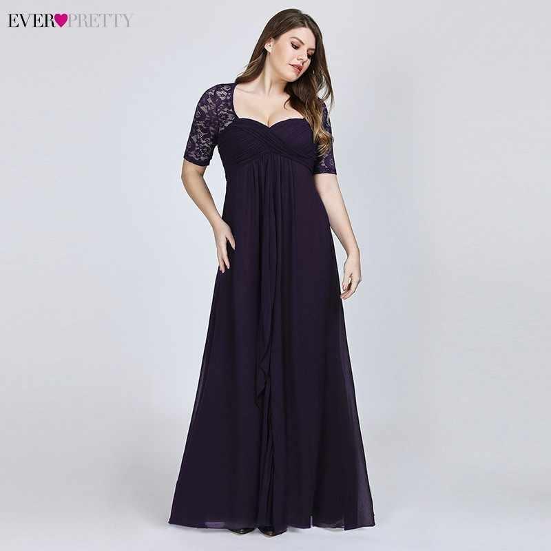 96922b41 ... Vestido de fiesta de boda Formal de encaje azul marino bonito para  madre de la novia ...