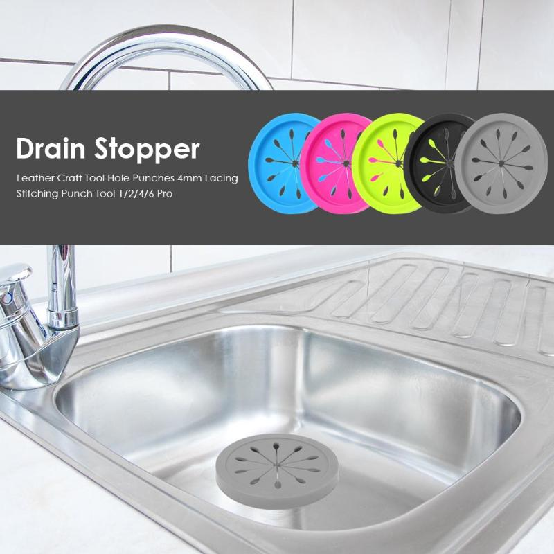 New Kitchen Drains Sink Strainers Filter Sewer Drain Hair Colander Bathroom Cleaning Tool Kitchen Sink Accessories Gadgets