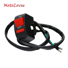 Handlebar Switches Button-Connector Motorbike-Accessories Push-Button Motolovee
