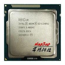 إنتل سيون E3 1240 v2 E3 1240v2 E3 1240 v2 3.4 GHz رباعية النواة معالج وحدة المعالجة المركزية 8 متر 69 واط LGA 1155