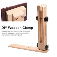 Adjustable Rotating DIY Leather Clips Hand made Sewing Wooden Clamps