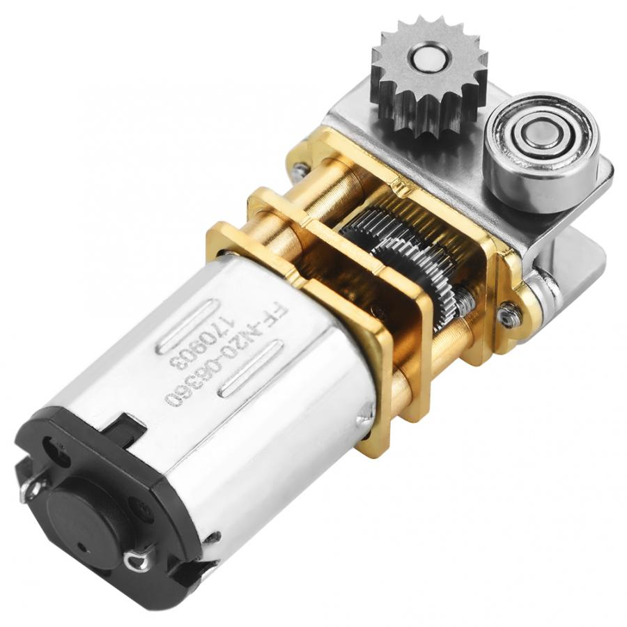 1Pcs DC3V-12V N20 Micro Gear Motor With Cutting Gear For Smart 3D Printer Pen