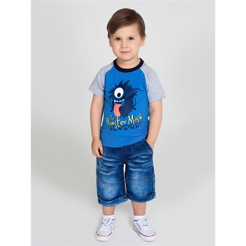 Shorts Sweet Berry Boys denim shorts children clothing kid clothes lace up high waist shorts
