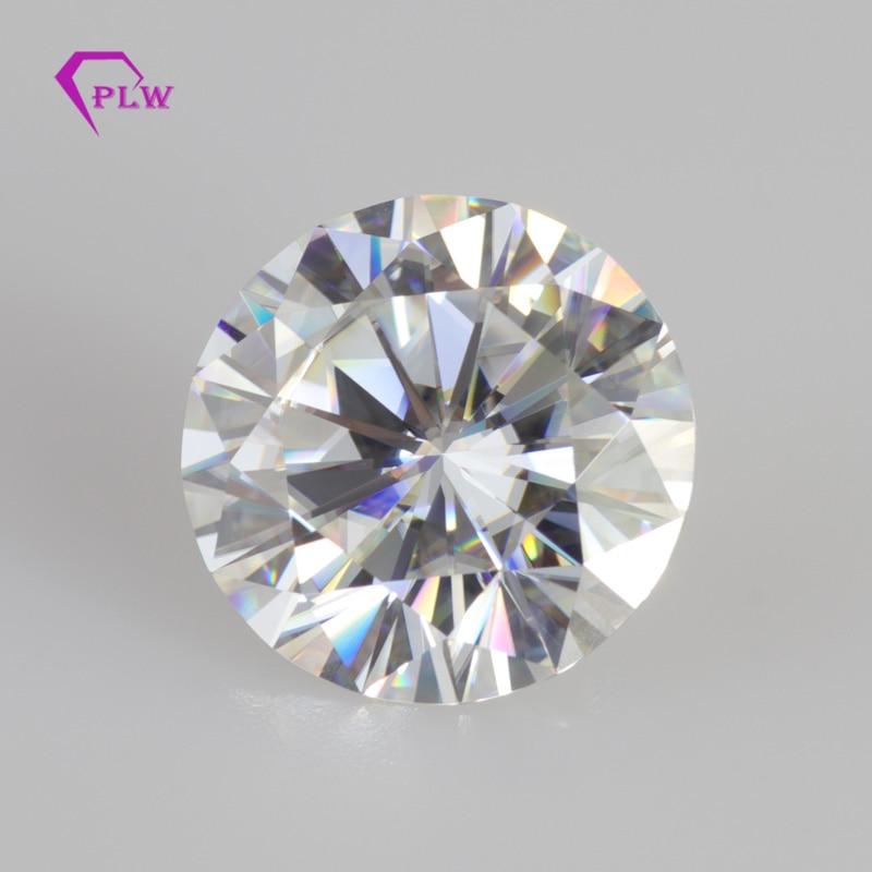 Round Moissanite Diamond Brilliant-Cut VVS 2-Carat The-Certification for Discount-Quality