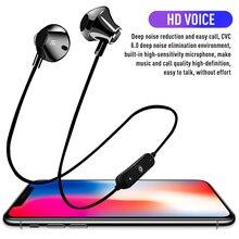Bluetooth портативная гарнитура магнитное притяжение Беспроводная гарнитура спортивные стерео музыкальные наушники для iOS Android телефонов