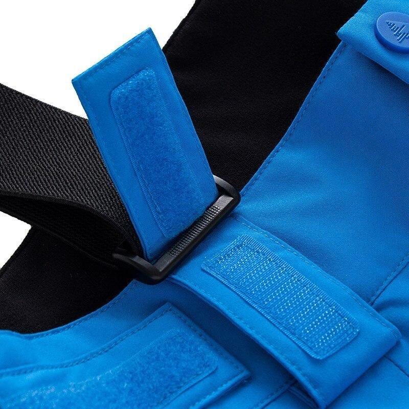 Pantalon de Ski Extra épais salopette Sport de neige chaud hommes pantalon d'hiver femmes combinaison de Ski Snowboard vêtements de plein air imperméable 2019 nouveau - 6