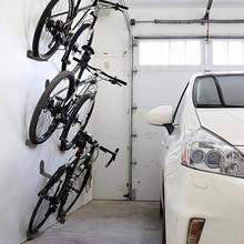 Estante negro para bicicleta, candados para Pedal de ciclismo, soporte de pared para neumáticos, colgador de almacenamiento, accesorio para bicicleta