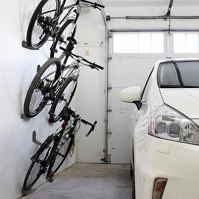 Portabiciclette nero portabiciclette pedale lucchetti supporto da parete per pneumatici supporto da parete per bici supporto per appendiabiti supporto per bicicletta