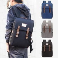 Women Bagpack Nylon Mochila Feminina Leather Backpack Laptop Travel Rucksack Men Satchel School Bags For Teenage Girls Plecak