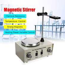 US/AU/EU 79-1 110/220V 250W 1000ml Hot Plate Magnetic Stirrer Lab Heating Dual Control Mixer No Noise/Vibration Fuses Protection