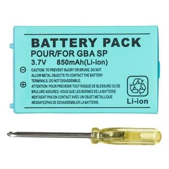 Аккумуляторная литий-ионная батарея OSTENT 850 мАч + набор инструментов для Nintendo Gameboy Advance GBA SP
