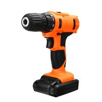 18 Volt DC Lithium Ion Battery 2 Speed Electric Cordless Drill Mini Screwdriver Wireless Power Driver