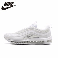 Nike Summer Female AIR MAX 97 Air Cushion Running Shoes Motion Casual Sports Sneakers #921826 101