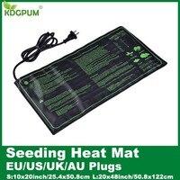 EU/US/UK/AU plántulas de calor para plantas  estera de germinación de semillas  almohadilla de inicio clon  impermeable para jardín  suministros para invernadero|Macetas infantiles| |  -