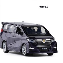 1/32 Toyota Alphard Rowen S-grade Diecast Model Alloy Car Toy For Children Hot-Wheeling Sound Lighting Pull Back Collection недорого
