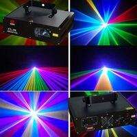 Полноцветный работающий через протокол DMX МВт RGB 600 лазерный свет для сцены и вечерние освещение