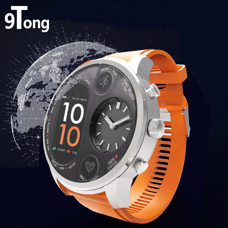 цена на 9Tong Sport Smart Watch Stainless Steel Fitness Activity Tracker IP68 Waterproof Standby 15 Days Smartwatch for Men Gifts