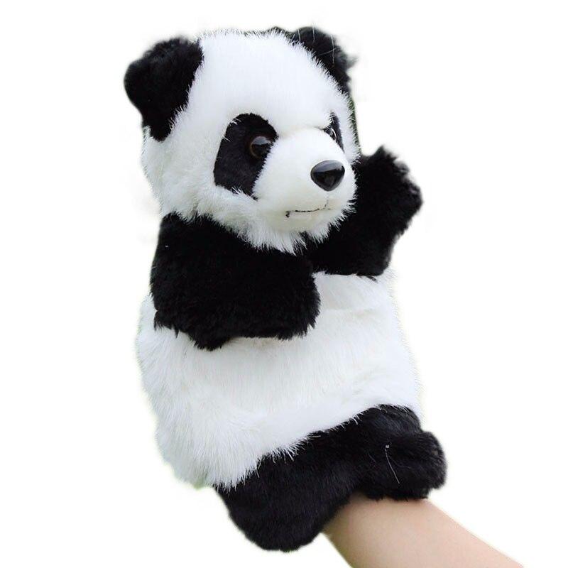 Panda Handpop Baby Kids Pluche Pop Educatief Speelgoed Voorschoolse Kleuterschool Zo Effectief Als Een Fee Doet