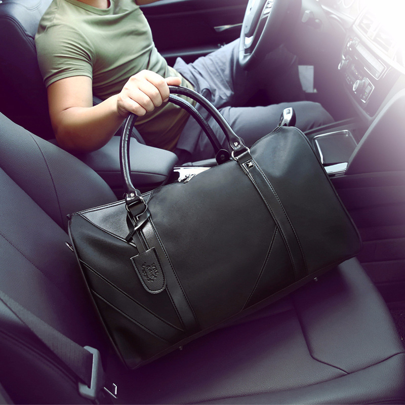 2018 Business Trip Travel Bag Male Hand Large Capacity Light Short Travel Bag One-Shoulder Bag A Generation Of Fat