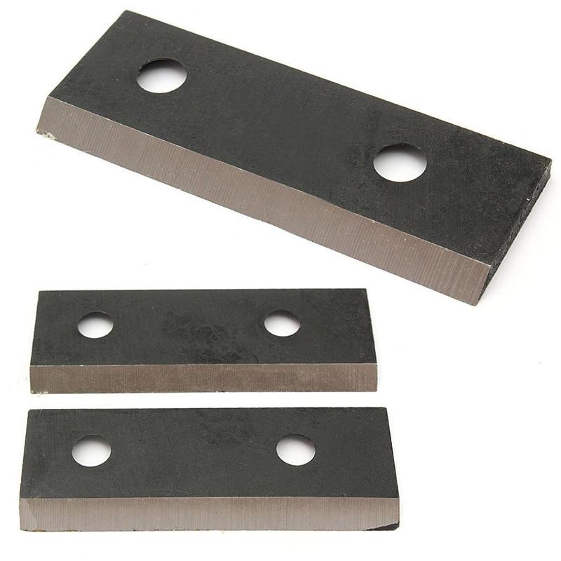 Black 2pcs/set High Quality Environmental Steel Garden Shredder Chipper Blade Set