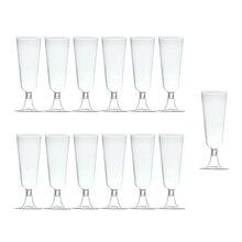 Открывающийся promotion-60Pcs, 150 мл, одноразовый жесткий пластиковый бокал для шампанского, бокал для красного вина, бокал для вина, вечерние, для праздника